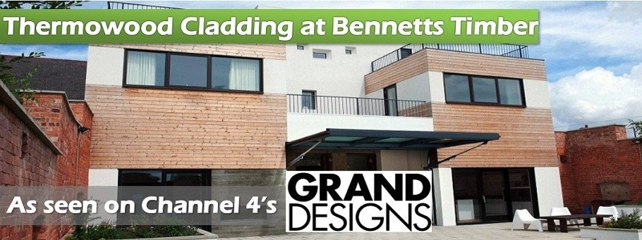 Grand Designs Thermowood Cladding Banner