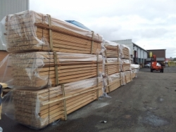 image for Larch Cladding Supplied to Tesco Eco-Store