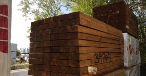 Image for Brown Treated Sleepers