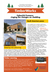 image for Colourful Cumaru - ringing the changes on cladding