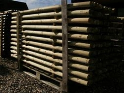 image for Round Timber Fence Posts Now Available