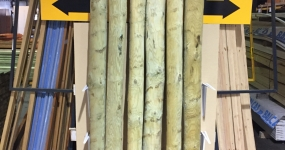 Image for Round Rustic Timber Posts