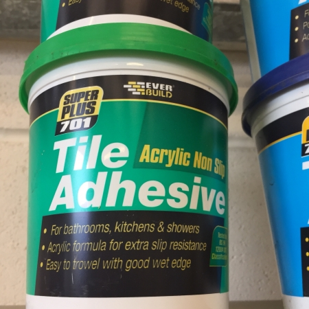 Image for Tile Adhesive - Acrylic No Slip