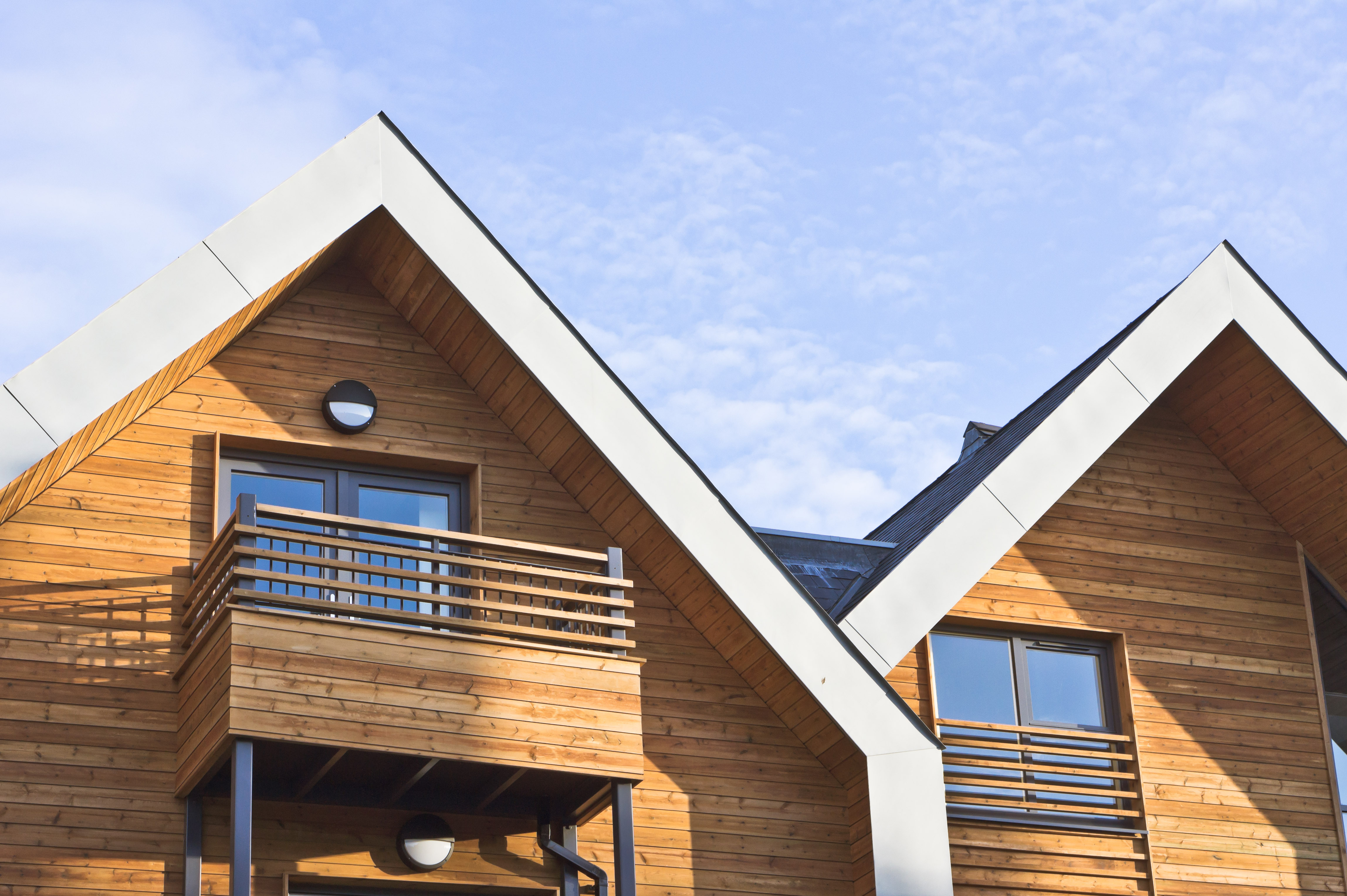 Why timber cladding is the only material you should use for your eco house for Sustainable exterior cladding materials