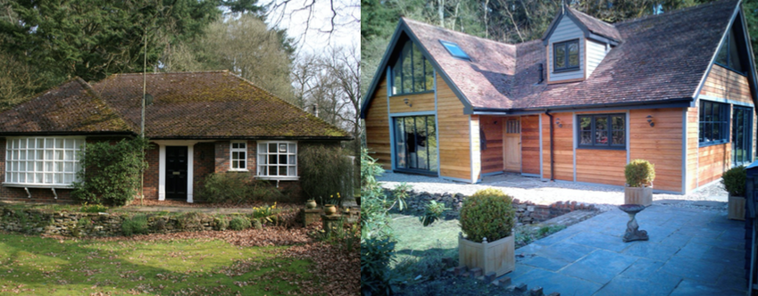 Cedar Cladding Transformation