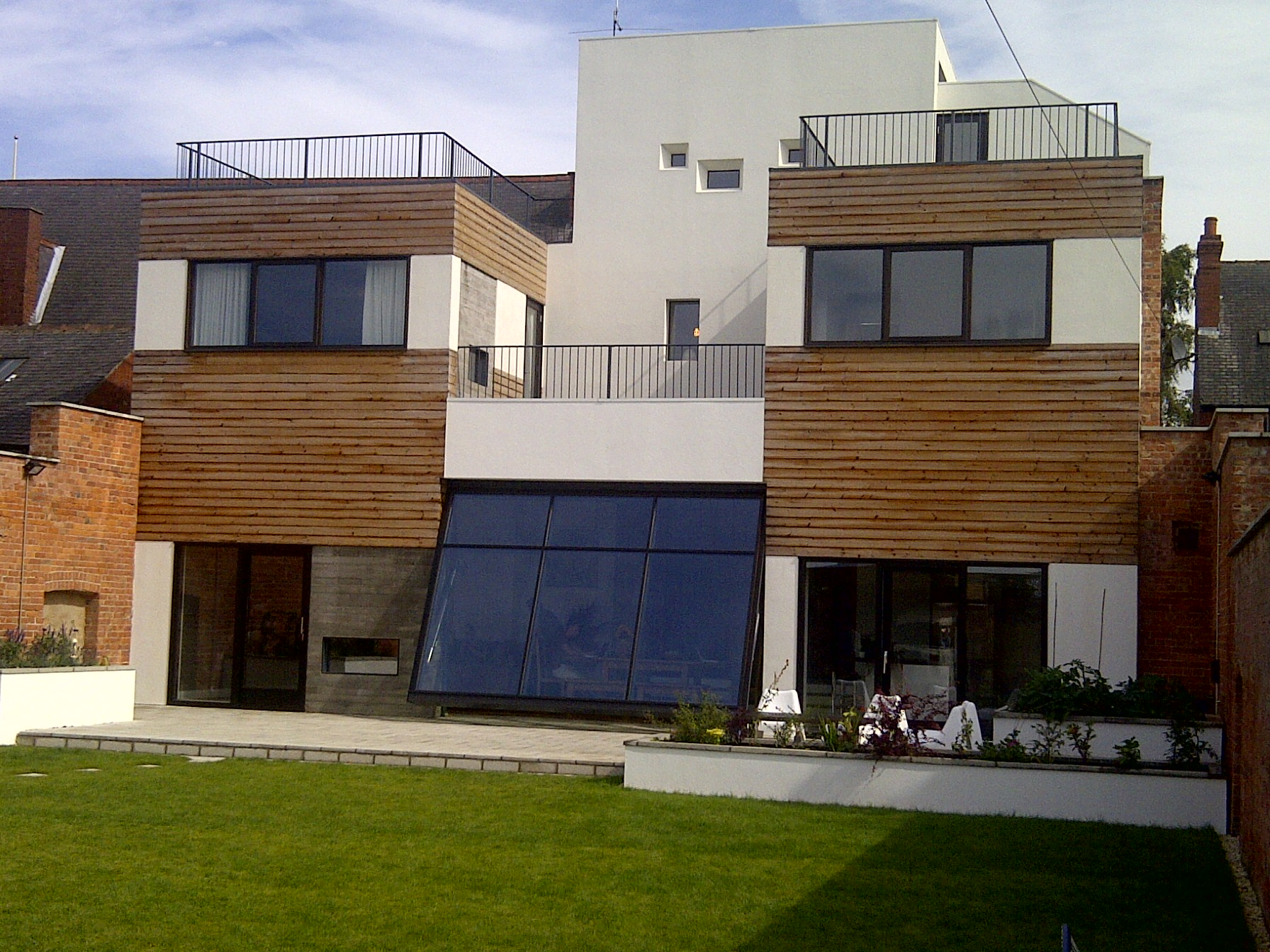 Thermowood cladding supplied to project featured on Grand Designs.