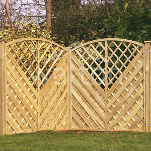 Image for Ely Bow  Fence Panel