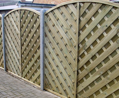Image for Lincoln Bow Fence Panel