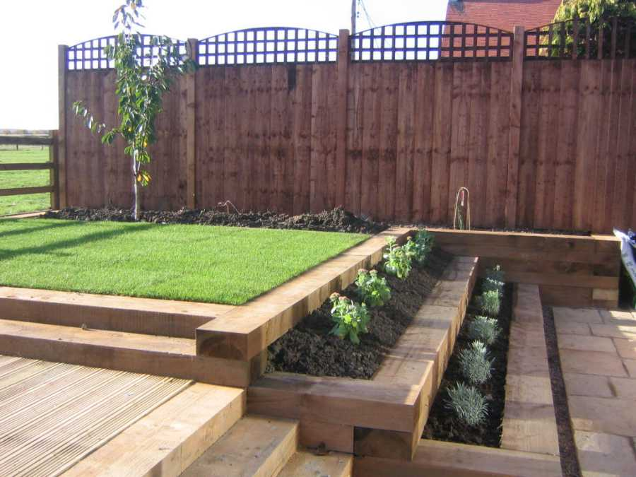 Sleepers special offer for Garden design grimsby