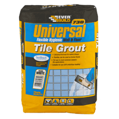 Universal floor and wall tile grout